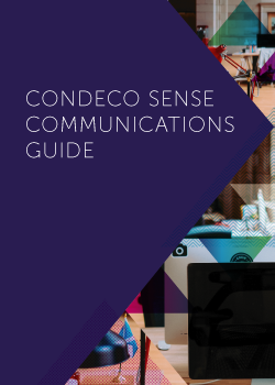 Condeco Sense Communications Guide